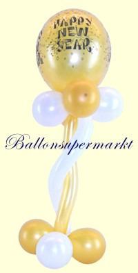 Silvesterparty-Luftballon-Ballondeko