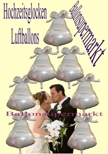 Hochzeitsglocken-Luftballons-Ballonsupermarkt