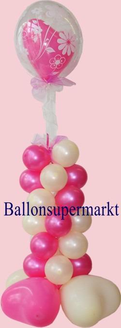 Ballondeko-Hochzeit-Liebe-Bubble-Luftballon-Herzluftballon-1