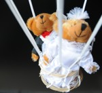 Geschenke zur Hochzeit im Fesselballon