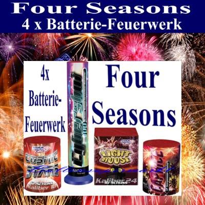 Feuerwerks-Batterien-Four-Seasons
