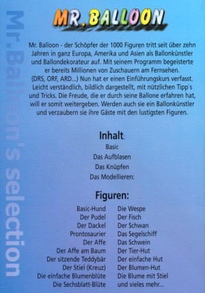 Anleitung Buch: Wie forme ich Modellierballons