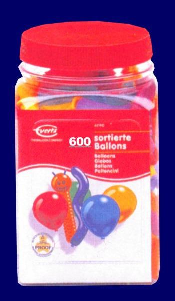 Luftballons Sortiert