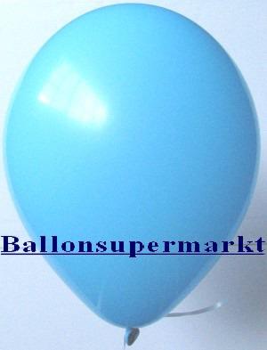 Luftballons Rundballons Oval Himmelblau