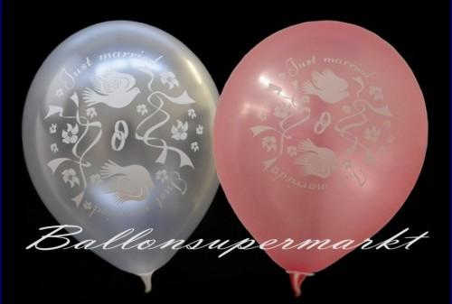 Luftballons-Hochzeit-Wedding-Noble-Hochzeitsballons-mit-Tauben-Trauringen