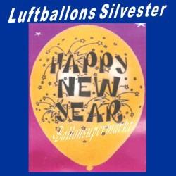 Luftballons Silvester