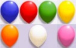 Luftballons 12 cm Farben