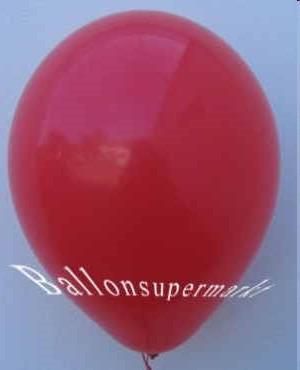 Luftballons-Rot-Latex-Rundballons