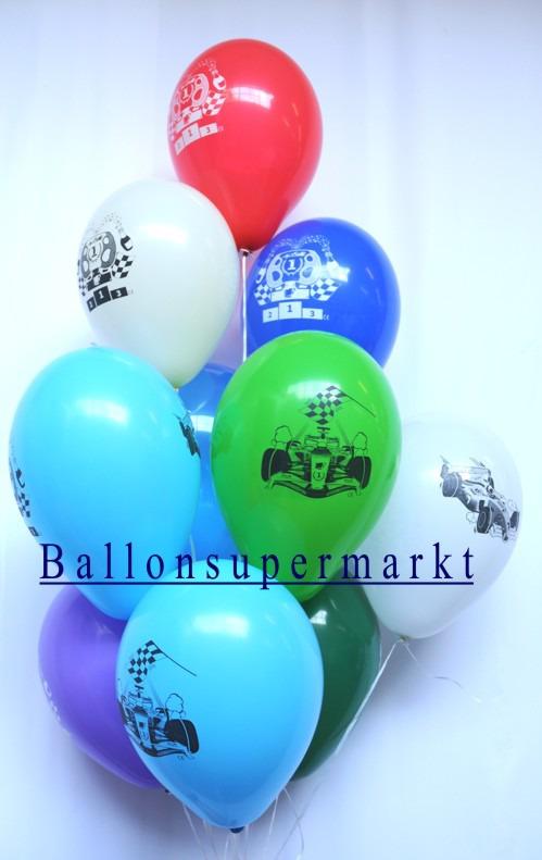 Formel-1-Rennwagen-Luftballons-Ballonsupermarkt