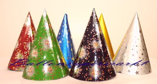 Silvesterdeko-Partyhuetchen-Feuerwerk