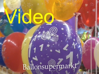 Latex-Luftballons mit Motiven