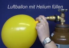 Ballonsupermarkt-Onlineshop - Luftballons mit Ballongas-Helium aufblasen, Anleitung