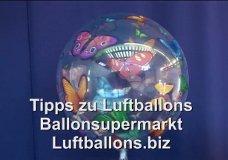 Ballonsupermarkt-Onlineshop - Luftballons aus PVC, Bubble Luftballons, Anleitung