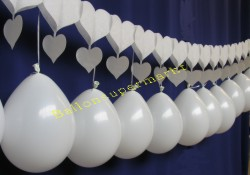 Hochzeit Luftballons Girlande