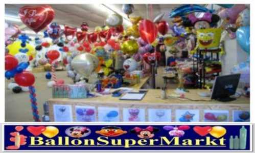 Ballongas, Helium und Luftballons finden Sie im Ballonsupermarkt-Onlineshop