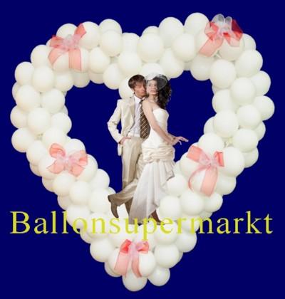 Luftballons zu Hochzeiten