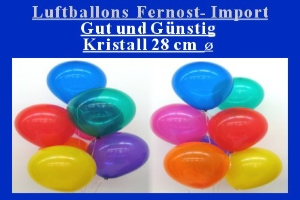 Luftballons Kristall im Sonderangebot