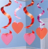 Streamin' Swirls Love Decoration (Am 678406)