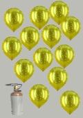 Hochzeit Goldene Hochzeit inkl. Helium (FHGE Ev D 665057)