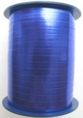 Ballonband, Luftballonbänder 1 Rolle 400 m, Blau Metallic (Ballonband-Blau-Metallic-Rolle-Bb-BLM-01)