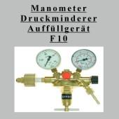 Druckminderer, Auffüllventil und Manometer (GT F10 Stndrd HE 1)