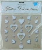 """HochzeitsDeko """"Hanging Glitter"""" (HOCH4)"""