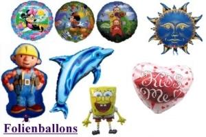 Luftballons aus Folie: Folienballons