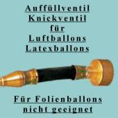 Ballongas Auffülventil für Luftballons (Ballongas-Ventil-BAS-4904)