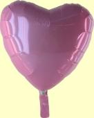 Herzballon Rosa (heliumgefüllt) (FHGE R8A)