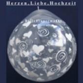 Herzen, Liebe, Hochzeit, Geschenkballons, Stuffer (Geschenkballons Herzen 01)