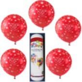 Luftballons Liebe Helium Set, 6 Ballons Liebe, Mini-Helium-Einweg (Luftballons-Liebe-Helium-Set 06)