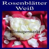 Hochzeitsdekoration Rosenblätter