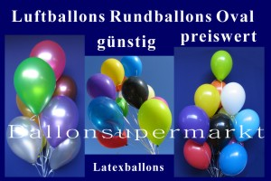 Luftballons Rundballons Oval - Luftballons Rundballons Oval