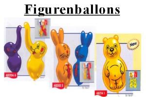 Luftballons - Figurenballons - Luftballons - Figurenballons