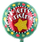 Merry Christmas (heliumgefüllt) (FHGE WM E 4)
