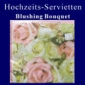 Servietten-Tischdeko-Hochzeit (Hochzeitsservietten 406570)