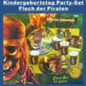 Kindergeburtstag Party-Set, Fluch der Karibik (KiGebu PS Ev 550836)