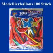 Modellierballons 100 Stück (LMB-Modellierballons-GF-25G)