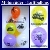 Motiv-Luftballons-Motorräder (Motiv-Luftballons-Motorraeder-GF-160)