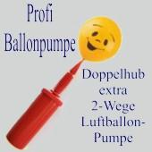 Professionelle Ballonpumpe mit Doppelhub für alle Artgen von Luftballons