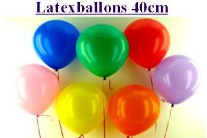 Luftballons in 40 cm vom Ballonsupermarkt-Onlineshop