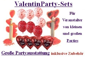 Valentin Party-Sets - Valentin Party-Sets