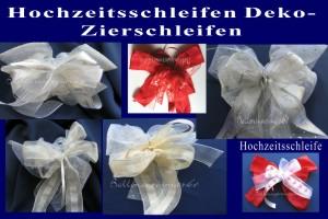 Hochzeit-Deko-Schleifen-Hochzeitsschleifen - Hochzeit-Deko-Schleifen-Hochzeitsschleifen