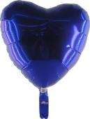 Herzballon Blau (heliumgefüllt) (FHGE3)