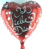 Ich liebe Dich (heliumgefüllt) (FHGE D01)