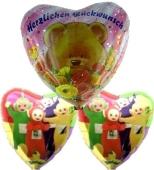 Kindergeburtstag Luftballons schenken