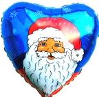 Nikolaus / blau (heliumgefüllt) (FHGE W1)