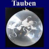Tauben, Geschenkballons, Stuffer (Geschenkballons Tauben 01)