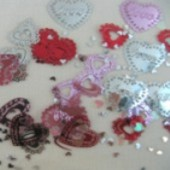 "Konfetti ""Lacy Hearts"" (HOCH 368752)"