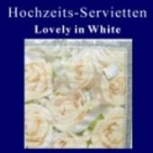 Tischdeko-Servietten-Hochzeit (Hochzeitsservietten 711070)